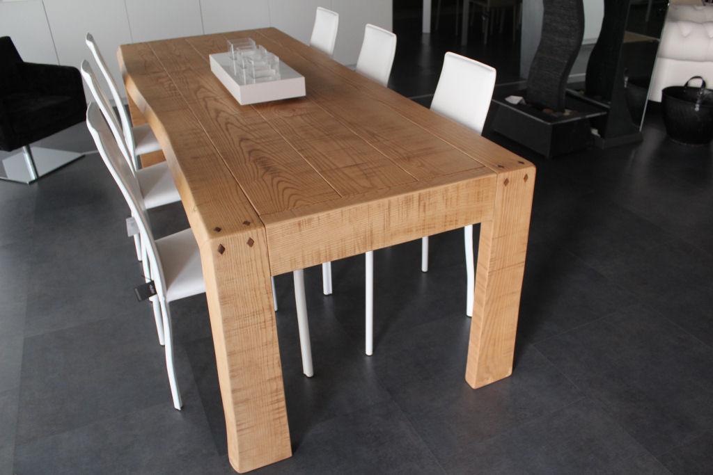 Tavolo legno naturale su misura caretta design - Tavolo legno naturale ...
