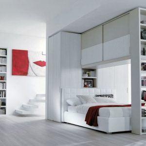 Letto Con Cabina Armadio Sotto.Letto Container Con Cabina Armadio Sotto Letto Caretta Design
